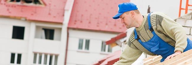 dakwerker voor dakbedekking