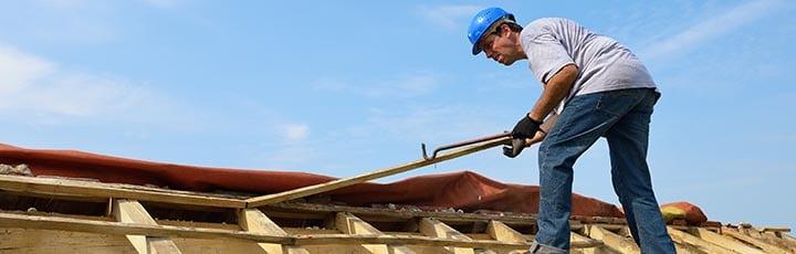 nieuw schuin dak
